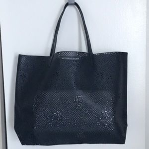 Victoria's Secret Perforated Lace Tote